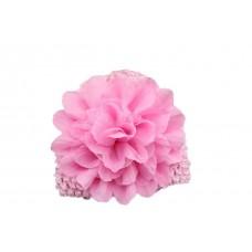 """Σκουφάκι """"Pink flower"""""""