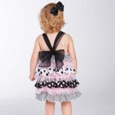 """Φόρεμα """"Polka Dot Ruffle"""""""