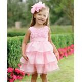 """Φόρεμα """"Pink Rose Silk """""""