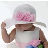 """Καπέλο """"Flower straw"""""""