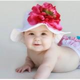 """Καπέλο """"Raspberry flower"""""""