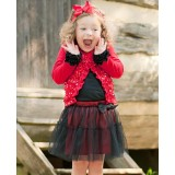 "Φούστα ""Red and Black Tutu"" Rufflebutts"