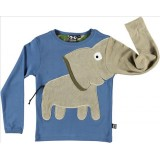 Μπλούζα ελέφαντας-μπλε