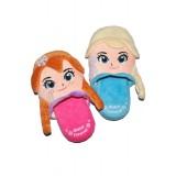 """Παντόφλες """"Frozen Anna & Elsa"""""""