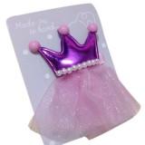 """Κλιπ """"Princess""""-pink"""