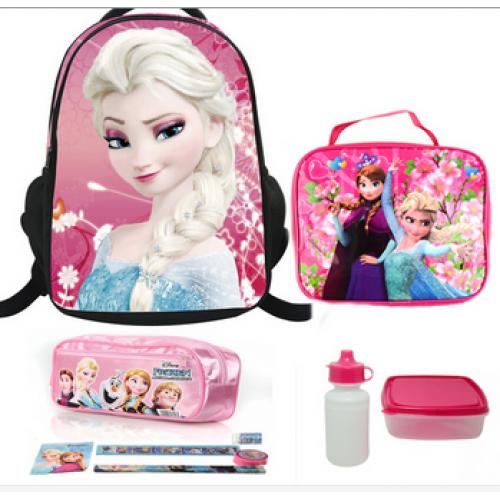 842dc41e5d Σετ σχολική τσάντα-τσάντα φαγητού-κασετίνα-μολύβια-παγούρι-ταπεράκι