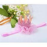 """Κορδέλα """"Pink Crown"""""""