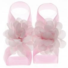 """Σανδάλια """"Pink flower"""""""