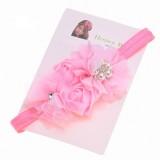 """Κορδέλα """"Pink flower pearl"""""""