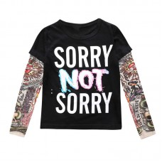 "Tattoo T-Shirt ""Sorry"""