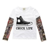 "Tattoo T-Shirt ""Chuck Life"""