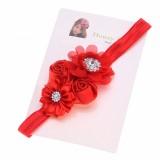 """Κορδέλα """"Red flowers"""""""