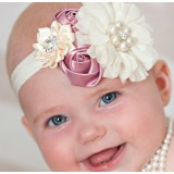 """Κορδέλα """"Pink flower roses"""""""