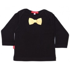 Oh Baby London Μπλούζα Gold Bow Tie