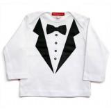 Oh Baby London Μπλούζα White Tuxedo