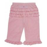 Ροζ βελούδινο παντελόνι Rufflebutts