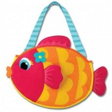 Τσάντα θαλάσσης με κουβαδάκια Ψαράκι Stephen Joseph