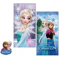 """Πετσέτα θαλάσσης """"Frozen Elsa & Anna"""""""