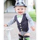 Φορμάκι Gray Tuxedo Ruggedbutts