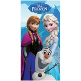 """Πετσέτα θαλάσσης """"Frozen Elsa -Anna-Olaf"""""""