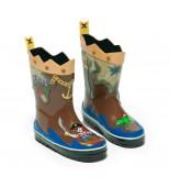 Rain boots pirate Kidorable