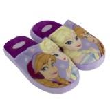 """Παντόφλες """"Frozen Elsa &-Anna"""" λιλά"""