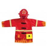 Raincoat fireman Kidorable