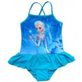 """Μαγιό """"Frozen Elsa"""" aqua snow"""