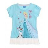 """Μπλούζα με τούλι """"Frozen Elsa & Olaf"""""""