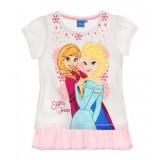 """Μπλούζα με τούλι """"Frozen Elsa & Anna"""""""
