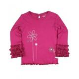 """Μπλούζα """"Fuchsia Flowers"""" Rufflebutts"""
