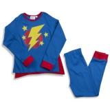 """Πιτζάμα """"Super Hero"""" μπλε"""