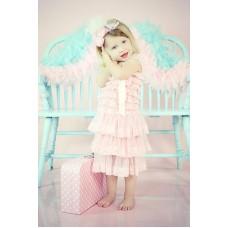 """Φόρεμα """"Pink lace"""""""