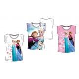 """Τοπ """"Frozen Elsa & Anna"""" ροζ"""