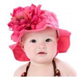 """Καπέλο """"Fuchsia flower"""""""