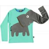 Μπλούζα ελέφαντας aqua-green