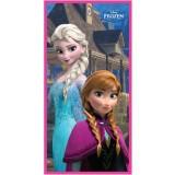 """Πετσέτα θαλάσσης """"Frozen Anna & Εlsa"""""""