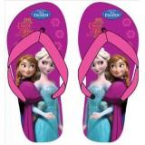 """Σαγιονάρες """"Frozen Elsa & Anna"""" φούξια"""