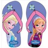 """Σαγιονάρες """"Frozen Elsa & Anna"""" ροζ"""