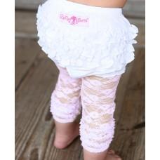 Κολάν Pink lace capri Rufflebutts