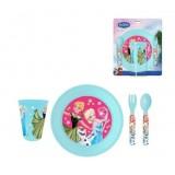 """Σετ φαγητού """"Frozen Elsa & Anna"""""""
