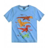 "T-Shirt ""The Good Dinosaur-Arlo & Spot""-μπλε"