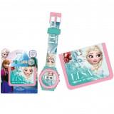 """Σετ ρολόι & πορτοφόλι """"Forzen Elsa"""""""