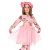 """Φόρεμα """"Pink flowers"""""""