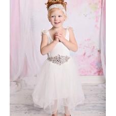 """Φόρεμα """"White tutu strass"""""""